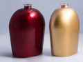 Bottiglie-verniciatura-effetto-metallico