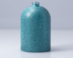 Flacone-di-vetro-glitterato-bagliore