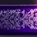 Floccatura piena con laseratura sui quattro lati