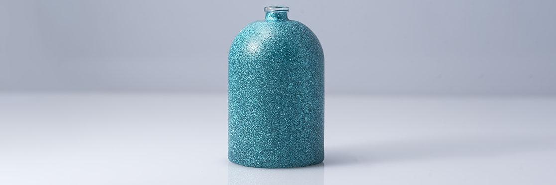 Glitter azzurro effetto bagliore Indeco